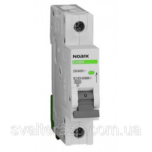 Автоматический модульный выключатель NOARK  EX9BN 1P C10