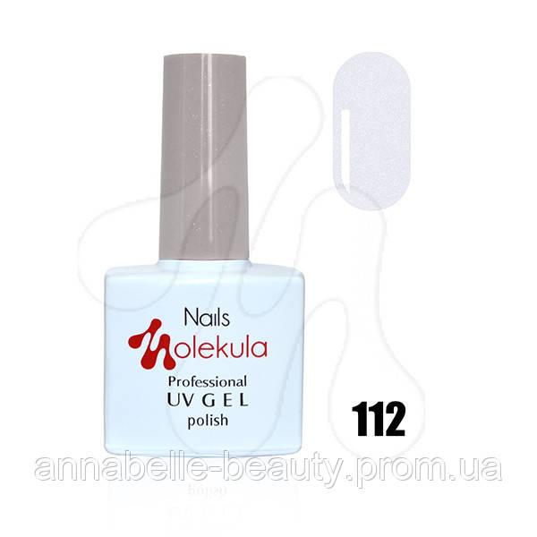 Гель-лак 11мл №112 перламутр серебро