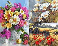 Картины по номерам в Киеве набор из 3 сюжетов