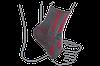 Бандаж на голеностопный сустав вязанный эластичный ReMed R7104
