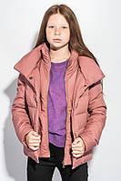 Куртка женская зимняя 702K002 junior (Светло-лиловый)