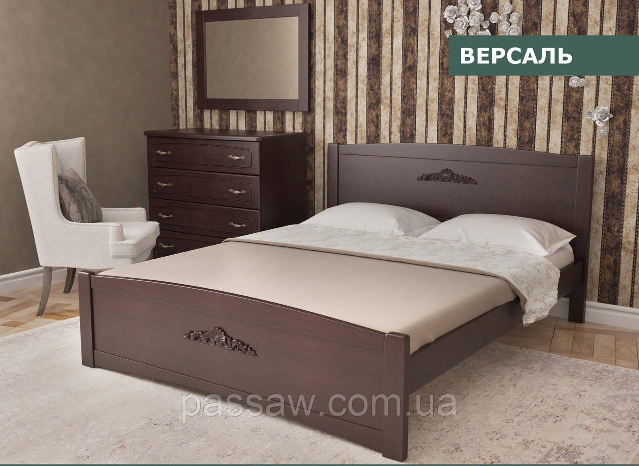 """Кровать деревянная """"Версаль"""" 1,4 ольха"""