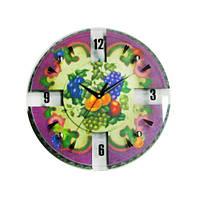 Часы настенные стеклянные на кухню