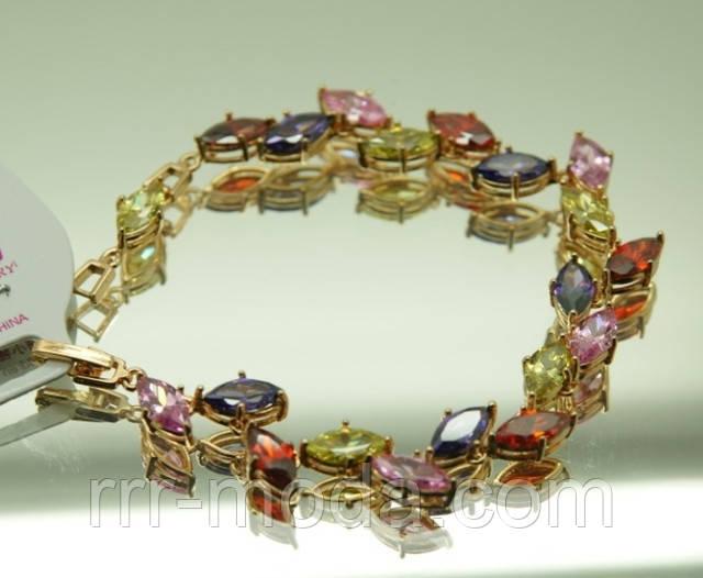 ювелирные браслеты с цветными сваровски оптом