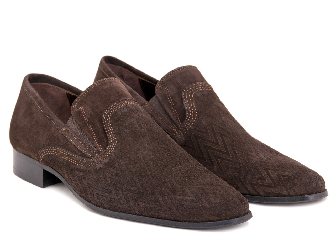 Туфли Etor 5842-5999 39 коричневые