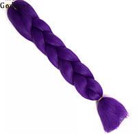 Канекалон ОПТ канекалоны косички цветные фиолетовый