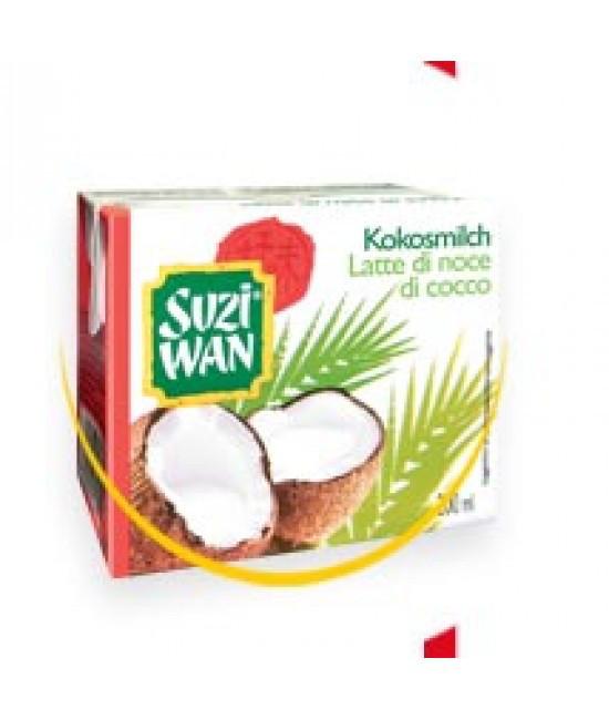 Кокосовое молоко Suzi Wan Latte di noce di cocco 200мл