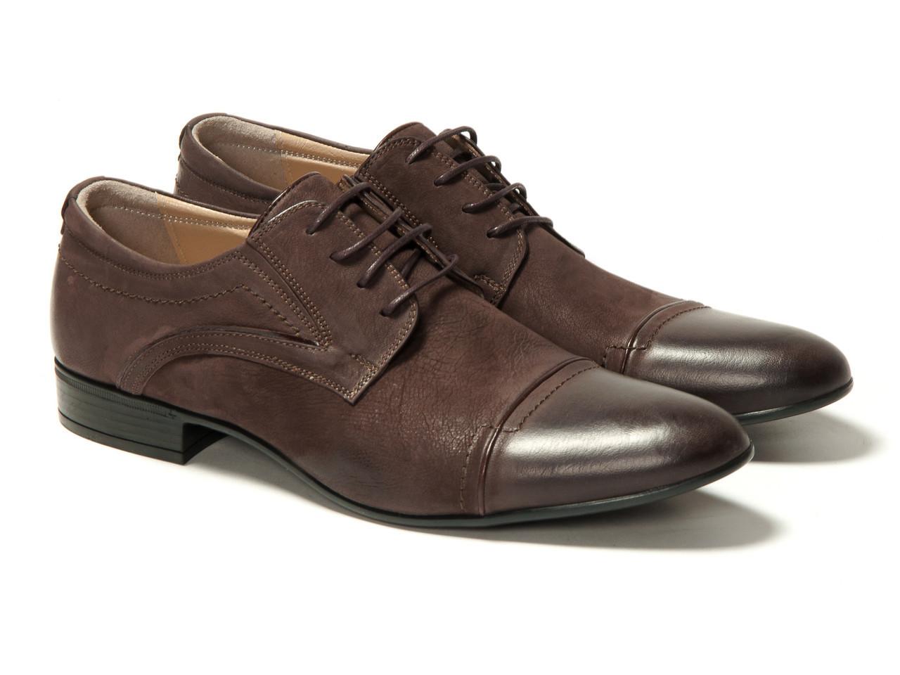 Туфли Etor 10735-826 45 коричневые