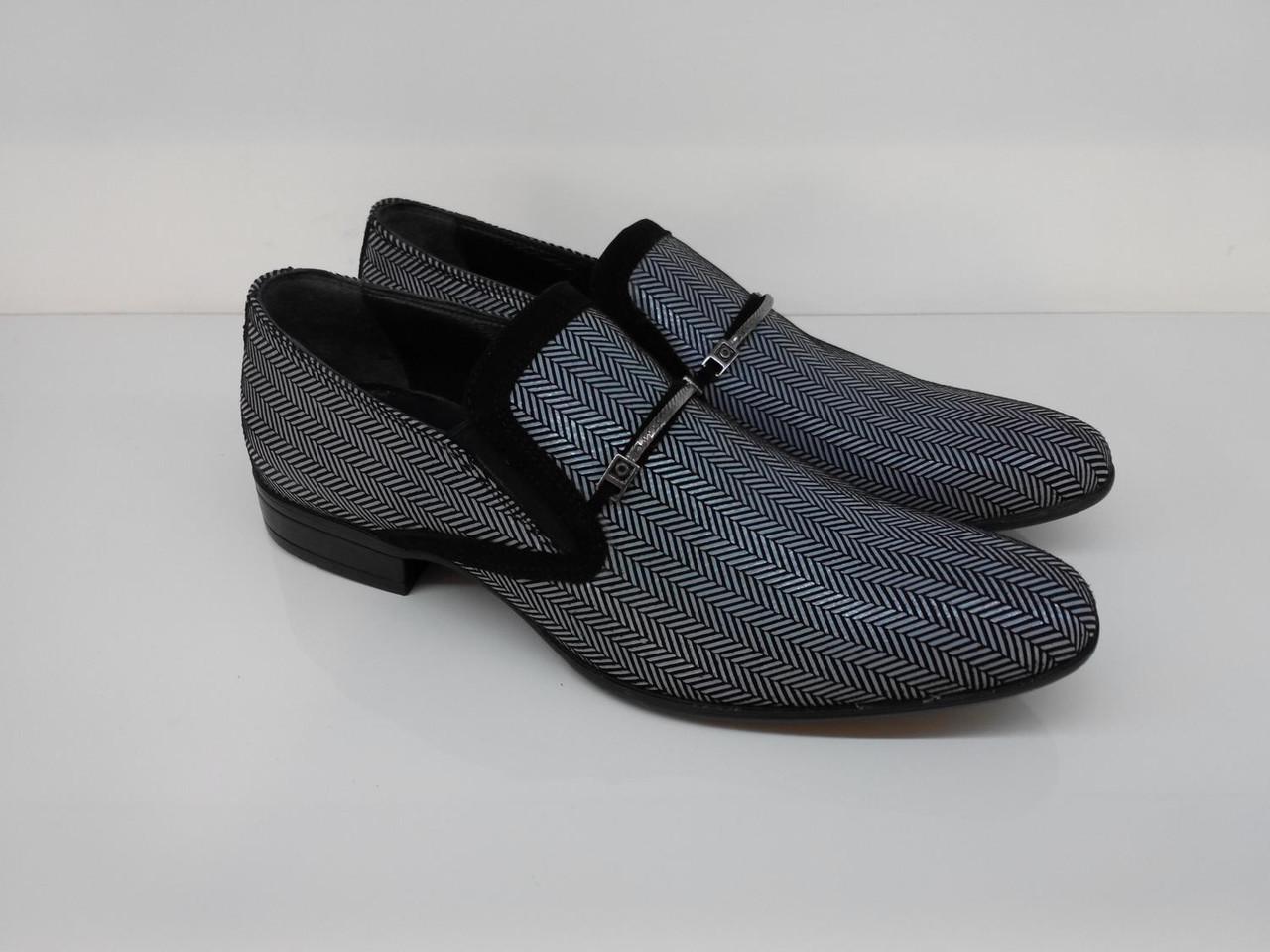 Туфли Etor 11391-7117 41 черно-белые