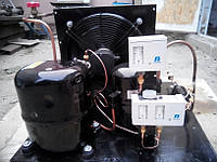 Среднетемпературный холодильный агрегат R404a/R507 , 1320 Вт. холод. (220 V)