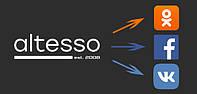 Выгрузка товаров Altesso в Ваши соцсети