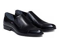 Туфли Etor 12767-7170 44 черные , фото 1