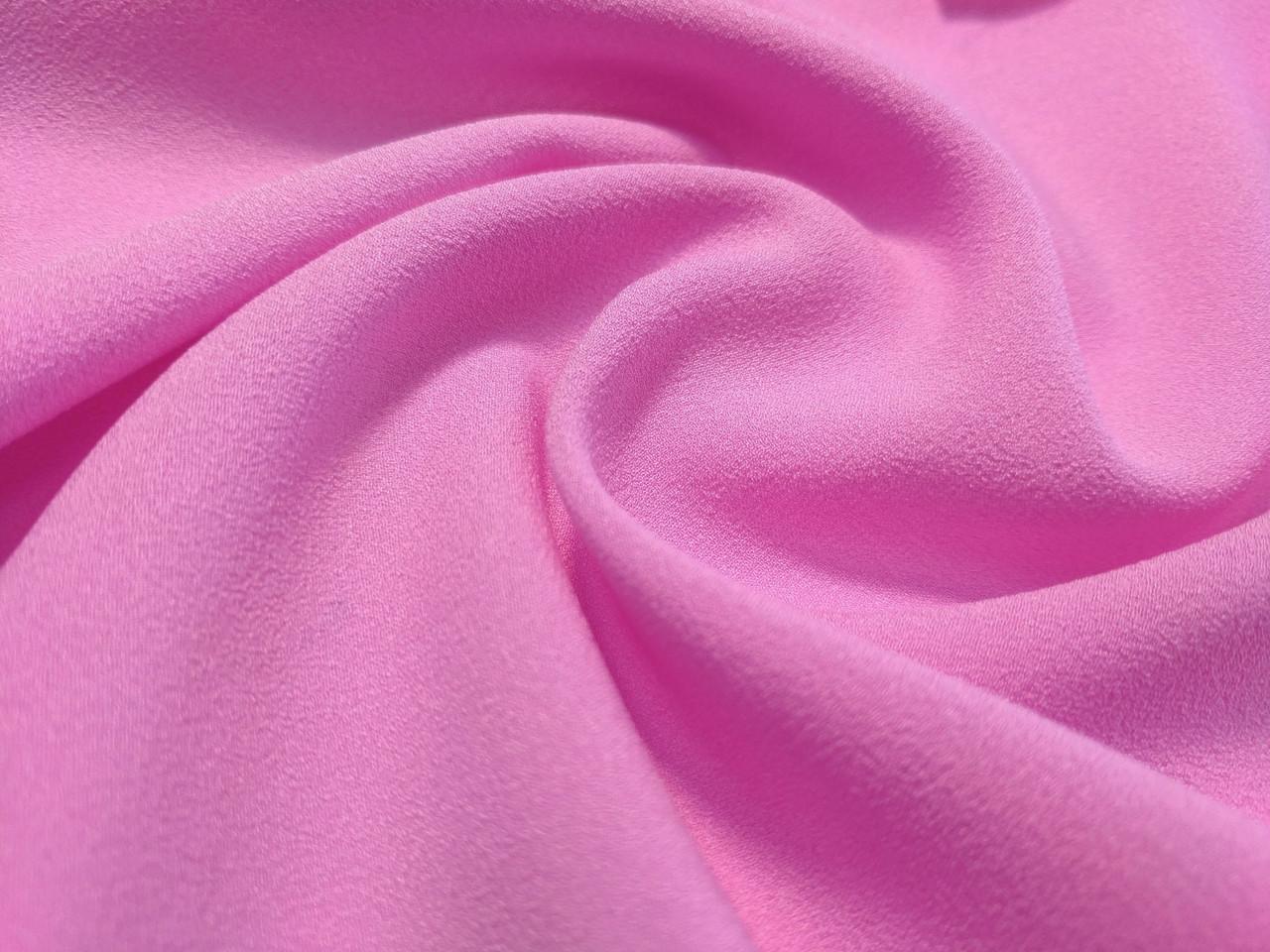 Креп-шифон, розовый