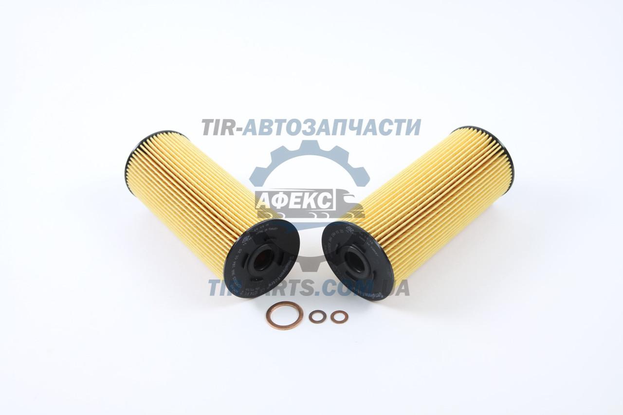 Комплект фильтров масляных Mercedes-Benz 1224-4844/87-96, BUS, NEOPLAN 2 фильтра в упаковке , Эко-тип (без клея) (366 184 01 25 | CE1274PEX2)
