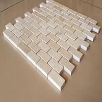 Мозайка мраморная Crema Nova полированный, лист 1х30,5х30,5, фото 1