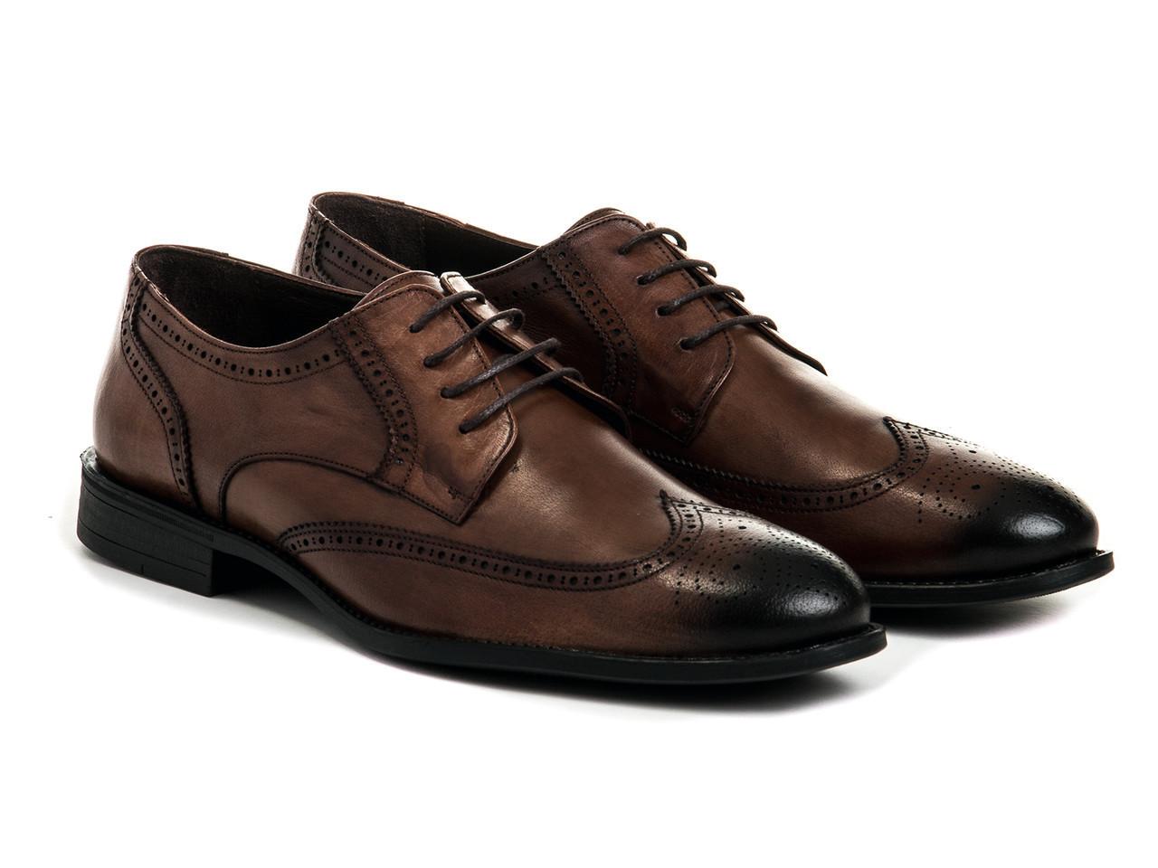 Броги Etor 12994-7257 43 коричневые
