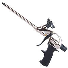 Пистолет для пены с тефлоновым покрытием держателя баллона + 4 насадки Intertool PT-0604