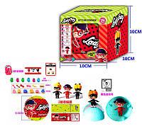 "Кукла в яйце ""Lady Bug"" 21451с аксессуарами, в коробке"