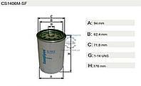 Фильтр топливный CATERPILLAR 966 ( 35S1) , COMP AIR700 HE, 3306, DIESEL Engine - , COMP AIR700 HE, 3306, DIESEL Engine - высота - 176мм (H19WK01 |