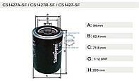 Фильтр масляный IVECO/-93 (150157520   CS1427A)