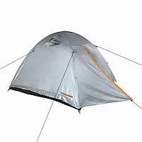 Палатка Treker MAT-117 трехместная, двухслойная туристическая, фото 1