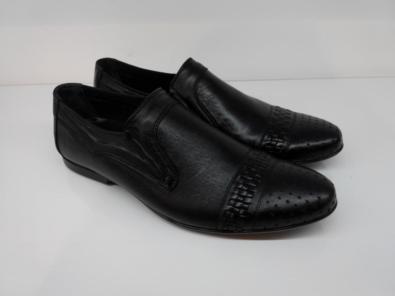 Туфли  Etor 6761-650 40 черные