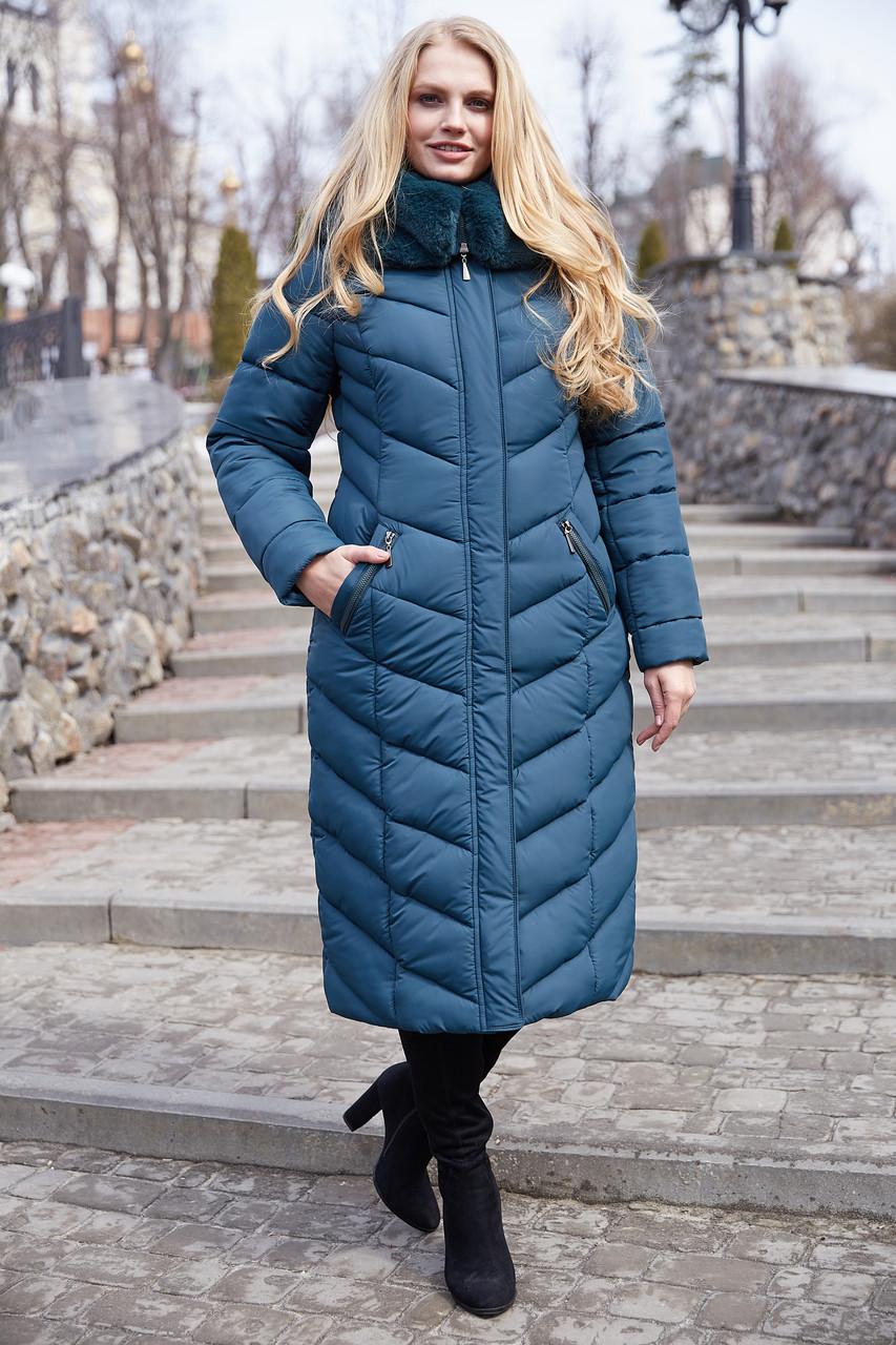 72fe2d6306f Купить женское классическое пальто больших размеров Амаретта