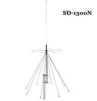 Антенна базовая дискоконусная широкополосная SIRIO SD-1300N (25-1300MHZ) для сканирующих приемников