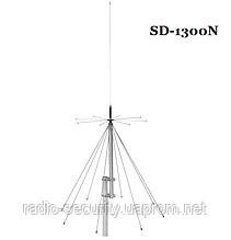Антена базова дискоконусная широкосмугова SIRIO SD-1300N (25-1300MHZ) для скануючих приймачів