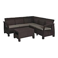 Набор мебели Keter Bahamas Relax коричневый