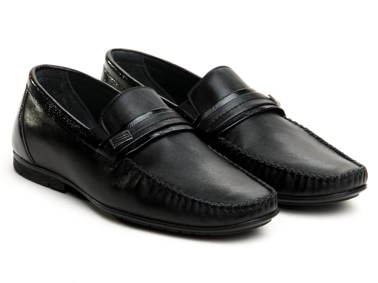 Мокасины Etor 10431-5074-3 45 черные