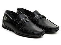 Мокасины Etor 10431-5074-3 45 черные, фото 1