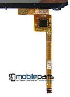 """Оригинальный Сенсор (Тачскрин) для планшета 7"""" HLD-PG719S-R1 3G (188*98 мм,6 pin) С рамкой (Черный-Самоклейка)"""