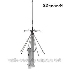 Антена базова дискоконусная широкосмугова SIRIO SD-3000N (300-3000MHZ) для скануючих приймачів