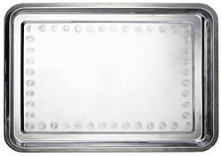 Поднос оцинкованный прямоугольный 450*350 мм (шт)