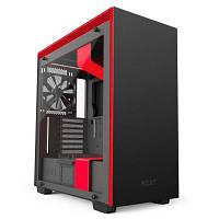 Корпус NZXT H700i MATTE BLACK/RED (CA-H700W-BR)