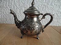 Чайник посребленный, винтаж (Германия)