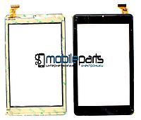 """Оригинальный Сенсор (Тачскрин) для планшета 7"""" QCY-070157 (189*112 мм, 30 pin) (Черный-Самоклейка)"""