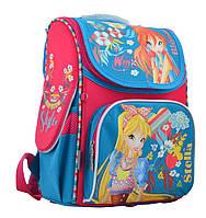 Рюкзак каркасный школьный 1 Вересня H-11 Winx mint