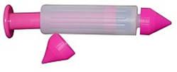 Шприц пластиковый с кондитерскими насадками L 150 мм (набор 03 шт)