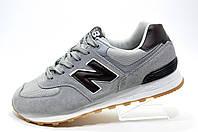 Мужские кроссовки в стиле New Balance 574 Classic, Gray\Brown