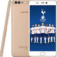 """Смартфон Leagoo T5 4/64Gb Gold, 13+5/13Мп,5.5"""" IPS, 3000mAh, 2sim, MT6750T, 8 ядер, 4G(LTE), GPS, фото 1"""