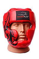 Боксерский шлем PowerPlay 3043 красный