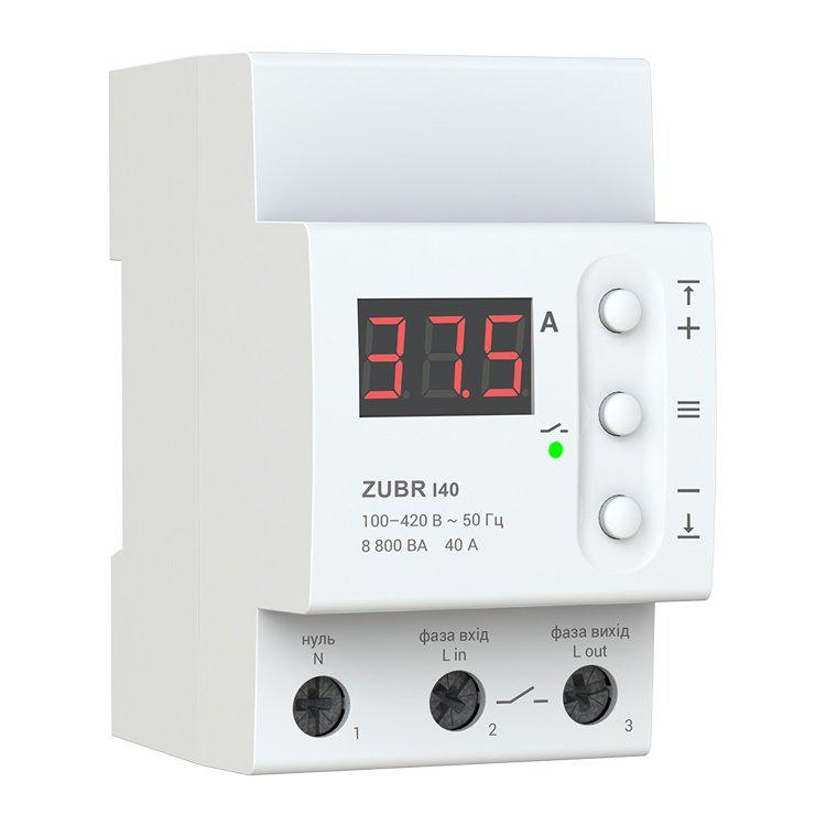 Реле тока ZUBR