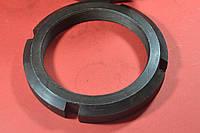 Гайка М76 кругла шлицевая ГОСТ 11871-88, DIN 981, фото 1