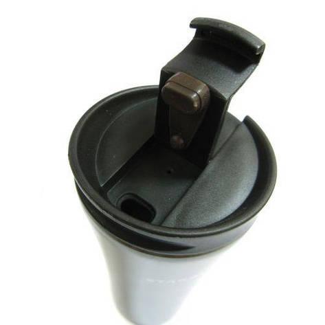 Термокружка термос starbucks 400мл SmartCup 9225 Black mat, фото 2