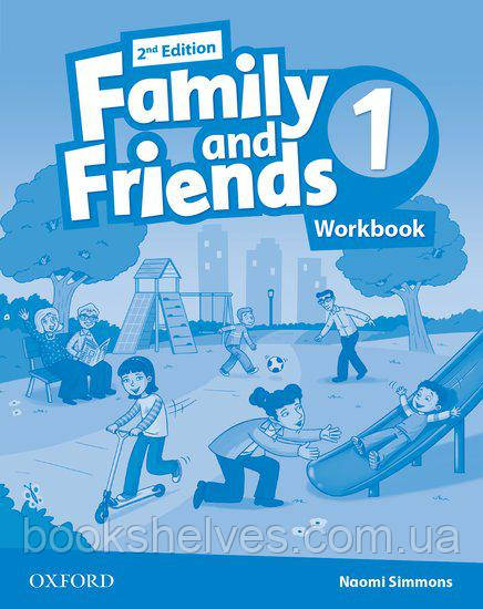Family and Friends 2nd Edition 1 Workbook UA