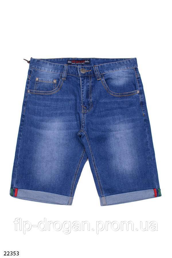 Джинсовые шорты с манжетами! 29 30 32 33 36 38 - Интернет-магазин