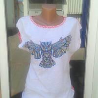 Стильная женская футболка Турция  со склада
