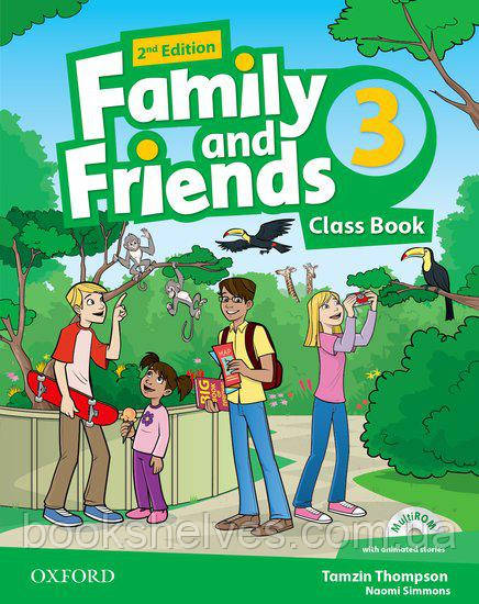 Family and Friends 2nd Edition 3 Classbook